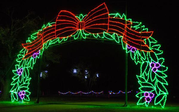 chrsitmas light displays - texas