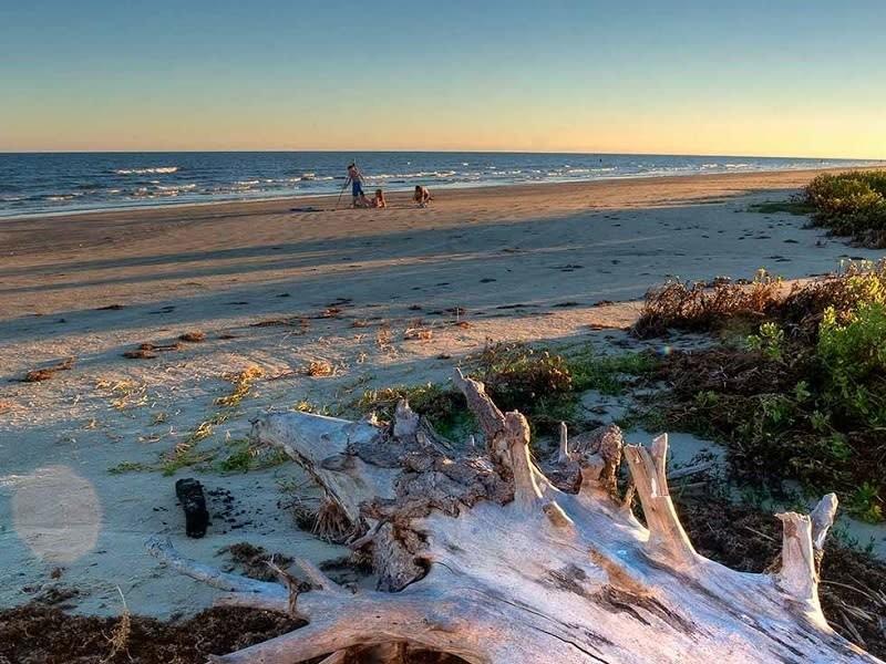 Galveston Island State Park in Galveston Texas ...